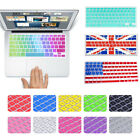 """US version Soft Silicone Keyboard Cover Skin for Macbook Air13""""A1466 A1932 A2179"""
