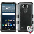 For LG G Vista 2/G Stylo TUFF Shockproof Hybrid Phone Protector Case Cover