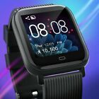 Smart Watch Android Women Man Watch Blood Presure Heart Rate Smartphone iOS US