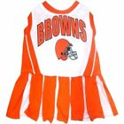 Cleveland Browns NFL Football Officially Licensed Dog Cheerleader Pet Dress $14.9 USD on eBay