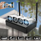 AUGIENB 4CH Wireless 1080P NVR WIFI IP Camera System CCTV Security Video Outdoor