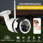 Outdoor 1080P FHD WIFI IP Camera Wireless  CCTV Home Security Night Vision 2.0MP