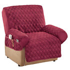 Kyпить Diamond Quilted Stretch Recliner Cover with Storage на еВаy.соm