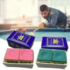 Triangle Cue Tip Chalk For Snooker Pool Billiard Tables Red Green Mixed Blu D1E4 $10.1 AUD on eBay