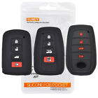 For Toyota Avalon Camry Corolla Auris Yaris Silicone Remote Key Case Fob Cover $3.96 CAD on eBay