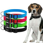 Quick fit Buckle Nylon Reflective Dog Collar for Small Medium Large Dogs Pitbull