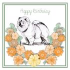 Chow Chow Birthday Card by Curiosity Crafts PERSONALISATION AVAILABLE