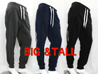 Big  Tall Southpole Men Fleece Jogger Pants 3XL-6XL