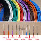 1-5M Silver Plated FEP Wire High Purity OFC Copper Cable HiFi Audio Speaker DIY
