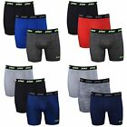 Prince Mens Performance Boxer Briefs - 12-Pack Breathable Stretch No Fly