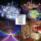 100/200 LED Fairy String Party Fancy Lights Lamp Home Garden Wedding Decoration