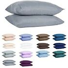 Set of Pillowcases (2 Qty) 100% Soft & Smooth Luxury Cotton 400 Thread Count  image