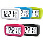 Battery Operated LED Display Digital Electronic Alarm Clock Snooze For Kids Gift