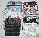 Handmade Small Zipper Coin Purse Pouch Bag with Key Ring Star Wars $4.0 USD on eBay
