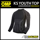 KK03023 OMP KS YOUTH TOP LONG SLEEVE KARTING UNDERWEAR T-SHIRT CADET CHILDRE