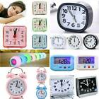Bedroom Classic Alarm Clock Silent No Tick Snooze Bedside Travel Morning Get Up