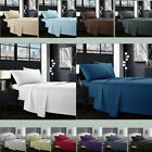 Egyptian Comfort 1800 Count 4 Piece Deep Pocket Bed Sheet Set King Queen Size R3 image