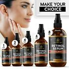 Retinol Serum For Face with Hyaluronic Acid Vitamin A E Anti Aging Various oz image