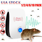 Pest Repeller Reject Ultrasonic Electronic Mouse Rat Mosquito Insect Control US