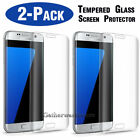 2-Pack Tempered Glass Screen Protector For Samsung Galaxy S7 Edge / S6 Edge Plus