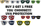NFL SUNGLASSES TEAM UVA RETRO LOGO FOOTBALL GAMEDAY WAYFARER GEAR MESH JERSEY $6.99 USD on eBay