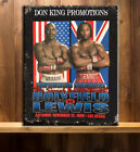 LENNOX LEWIS V HOLYFIELD BOXING FIGHT CLUB GYM Vintage Metal Wall Sign RS253Prints/ Posters - 31634