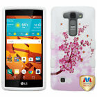 Design Hard Case +Silicone Protector TUFF Cover for LG LS751 Volt 2