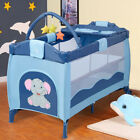 Foldable 4 color Baby Crib Baby Bed Playpen Playard