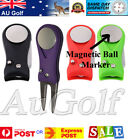 Stainless Steel Golf Green Divot Repair Tool with Magnetic ball marker -AU Stock