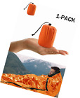 Shayson Survival Sleeping Bag, Emergency Bivvy PE Aluminum Film for Outdoor Camp