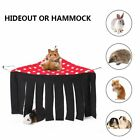 Hideaway Pet Feel Safe Hammock Small Tent Hanging Bed Guinea Pig Hamster Rest