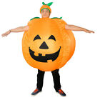 Halloween Funny Pumpkin inflatable Costume Party Cosplay Womens Mens Fancy Dress