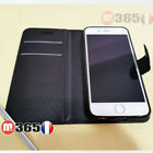 Case Cover Black Wallet IPHONE 5 6 7 8 X