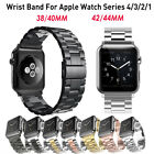 For Apple Watch Series 4/3/2/1 Stainless Steel Wrist iWatch Band Strap 38/42mm