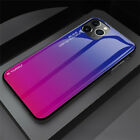 Hybrid Glass protective case cover for iPhone 7 8 Plus X XR 11 Pro Max