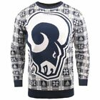 NFL Ugly Sweater XMAS Knit Pullover - Los Angeles Rams $71.9 USD on eBay