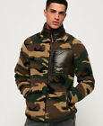 Superdry Mens Mountain Sherpa Camo Track Top