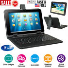 """9"""" Tablet Pc Android 5.1 Quad Core A7 8gb Dual Camera Wifi Bundle Keyboard Us"""