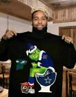 Grinch NFL Fan Team Football New York Giants-Dallas Cowboys T-Shirt S-6XL $21.99 USD on eBay
