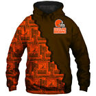 Cleveland Browns Hoodie Hooded Pullover Sweatshirt S-5XL Football Team Fans Gift $29.44 USD on eBay