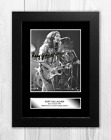 Rory Gallagher 2 A4 reproduction autograph poster with choice of frame