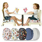 Unisex Kids Dining Chair Square Booster Seat Cushion Baby Toddler High Chair Pad