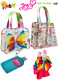 New Nickelodeon JoJo Siwa 2x Tote Bags 1 Purse & 1 Pencil Case With Pink Bow Set photo