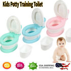 Kids Trainer Toilet Potty Training Seat Baby Boy&Girl Toddler Chair Padded Seat image