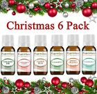 Christmas Holiday Essential Oil Set Pure Aromatherapy Balsam Fir Clove Cinnamon
