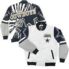 Dallas Cowboys Jacket Parmer Sublimated Varsity Jacket $130.0 USD on eBay