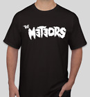 The Meteors T shirt Tee Rock Underground Music Punk Medal Rock Band image