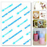 More images of Water Slide Decal Paper A4 Inkjet Waterslide Transfer Paper 5 / 10 / 20PCS Pack Hot