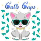 Cutie Caps 40 pack Sea Green Glitter Soft Nail Guard for Cat Paws / Claws