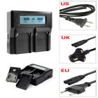Digital LCD Fast Dual Battery Charger For Sony FM NP-F970 / F750 / F550 / V607U